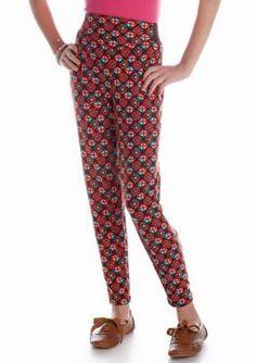 Sequin Hearts  Geo Print Soft Pant Girls 7-16