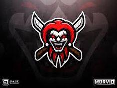 Evil Jester Mascot by Derrick Stratton Logo Inspiration, Logo Desing, Game Logo Design, Logo D'art, Art Logo, Gaming Logo, Evil Jester, Esports Logo, Sports Team Logos