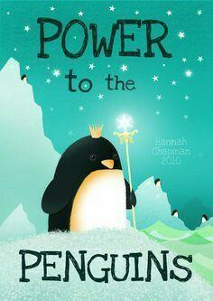 Penguin Art by Hannah Chapman