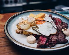 Nestled in Castle Hill, The Baron has become a local institution with a focus on simplicity and sustainability. Sydney Restaurants, Baron, Brunch, Pork, Beef, Castle, Sustainability, Cafes, Kale Stir Fry