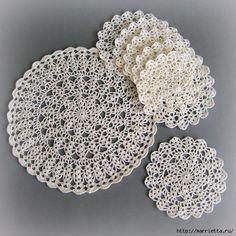 Вязание крючком. Салфетки (5) (500x500, 238Kb)