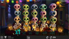 Play Esqueleto Explosivo and spin its skull themed reels and enjoy one heck of a Mexican experience that is about the day of the dead. Free Slot Games, Free Slots, Mexican Mariachi, Tom Horn, Elven Princess, Top Casino, Vegas Casino, Las Vegas, Play Slots