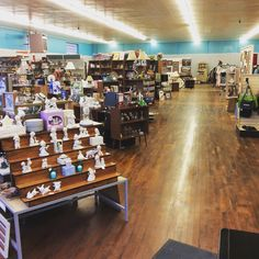 Thousands of quality items available all under 1 roof! 5,500 sq. Ft. of discount shopping. Open M-Th 10-6 Fr & Sa 11-7