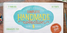 Kimmy Design's Complete Handmade Collection   https://fontsdiscounts.com/kimmy-designs-complete-handmade-collection?utm_content=buffer5fb16&utm_medium=social&utm_source=pinterest.com&utm_campaign=buffer