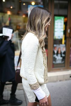 Casual chic, neutral colors, that's what i want for next Spring.