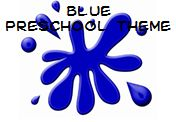 The Color Blue - Theme and Activities for Preschool