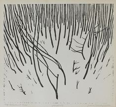 "Traunfellner's woodcuts show great precision and rhythm, especially his composition of trees. ""Jungholz"" - Dorotheum's artwork of the day! Art World, Art Blog, Auction, Abstract, Day, Artist, Summary, Artists"