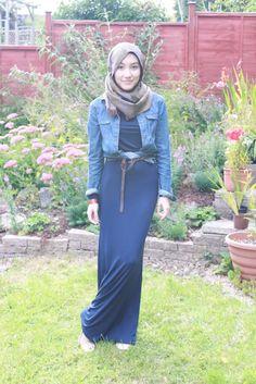Cute look by Hana Tajima Modest Dresses, Modest Outfits, Modest Clothing, Muslim Fashion, Modest Fashion, Eid Outfits, Summer Outfits, Hijab Collection, Hijab Fashionista