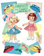 Bonnets and Bows, Saalfield 1963