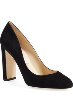 Jimmy Choo  Laria  Almond Toe Pump (Women) available at  Nordstrom Fashion  · Fashion HeelsAll About ShoesBlack ... 23c0bac0a588