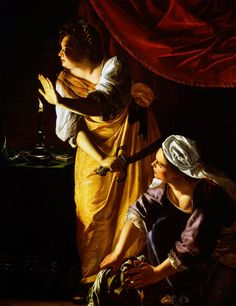 Judith and Her Maidservant with the Head of Holofernes, ca. between 1623 and 1625 by Artemisia Gentileschi - Paper Print - DIA Custom Prints - Custom Prints and Framing From the Detroit Institute of Arts Art History Major, History Of Wine, Artemisia Gentileschi, Detroit, Judith And Holofernes, Female Painters, National Gallery, 17th Century Art, Renaissance Paintings