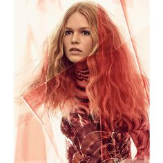 Vogue UK March 2017 Anna Ewers by Craig McDean featuring polyvore