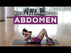 Tonificar abs | Rutina en casa - YouTube