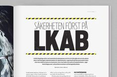 SSG WE MAGAZINE by Mattias Sahlén, via Behance