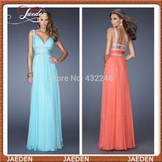 Find More Evening Dresses Information about New Arrival Free Shipping Sexy Lady Spaghetti Straps Chiffon Floor Length Formal Evening Dress Party Gown Custom Vestidos ,High Quality Evening Dresses from GMBridal on Aliexpress.com