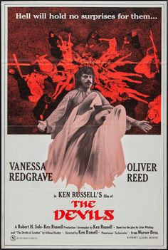 Ken Russells controversial, rarely seen, and heavily censored film The Devils. Warner Brothers refuses to release the 2004 Directors cut of this film. Use #FreeTheDevils on Twitter and Facebook to let them know we want the uncut, uncensored film!