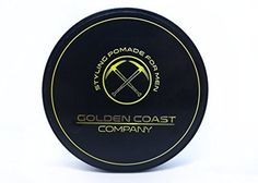 Hair Styling Pomade for Men 4oz Water Based - GOLDEN COAST COMPANY by GOLDEN COAST COMPANY -- Awesome products selected by Anna Churchill