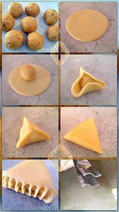 Ramadan Recipes 580331101955773566 - Triangles amandes oranges Source by afrageurytb Cookie Desserts, Cookie Recipes, Dessert Recipes, Maamoul Recipe, Eid Cake, Biscuit Decoration, Biscuit Bar, Algerian Recipes, Bread Shaping