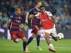 Alex Iwobi: 'Playing against Barcelona a dream come true'