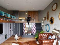 [해외 건축 인테리어]피규어와 장난감으로 가득찬 대만의 복층 아파트