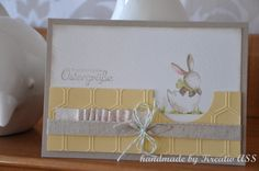 Easter I like the cut out ... try a softer embossing folder.