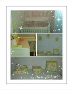 Lindo quarto da bebê Marina