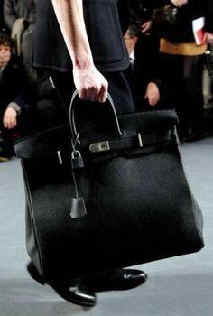 Black Hermes Birkin bag #ConvertToBlack