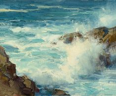 """Clyde Aspevig """"Monterey                      Surf"""""""