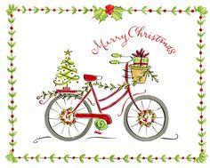 Anne Keenan Higgins - Christmas Bike