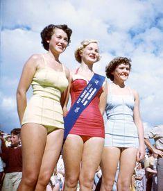 1953 Sun Beachgirl Quest at Chelsea, near Frankston, Victoria Australia