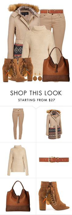 """Jeans Outfit"" by mozeemo ❤ liked on Polyvore featuring Barbour, TIBI, Topshop, Steve Madden, Jessica Simpson and Chico's"