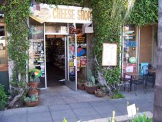 Cheese Shop, oh my gosh! They have the best turkey and avocado sandwich, a must when in La Jolla, California