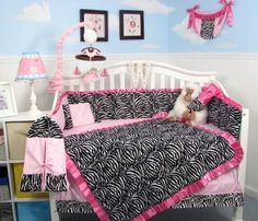 SoHo Designs Pink and Black and