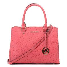 Michael Kors Ostrich-Embossed Large Pink Totes.More than 60% Off, I enjoy these bags.It's pretty cool (: Check it out! | See more about oakley sunglasses, michael kors and outlets.