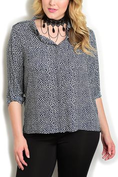 DHStyles Women's Ivory Navy Plus Size Trendy Dressy Sheer Polka Dot Button Down Top - 3X Plus #sexytops #clubclothes #sexydresses #fashionablesexydress #sexyshirts #sexyclothes #cocktaildresses #clubwear #cheapsexydresses #clubdresses #cheaptops #partytops #partydress #haltertops #cocktaildresses #partydresses #minidress #nightclubclothes #hotfashion #juniorsclothing #cocktaildress #glamclothing #sexytop #womensclothes #clubbingclothes #juniorsclothes #juniorclothes #trendyclothing…