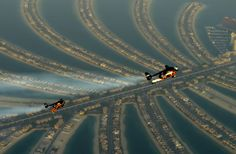 Watch Two Crazy Guys Fly Jetpacks Over Dubai in 4K. This is epic.
