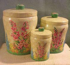 http://www.ebay.com/itm/Lovely-Hard-to-Find-Vintage-Baret-Ware-Tin-Canisters-Set-of-3-Windsor-Gardens-/281159826346?pt=Antiques_Decorative_Arts&hash=item41766e7baa#ht_1823wt_1170