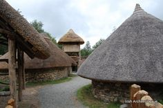 10,000 years of history; The Irish National Heritage Park in photos - The ringfort interior