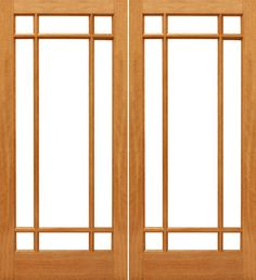 Prehung Slab Ovolo Sticking Insulated low-E Dual Double Glazed Mahogany Wood 9 Lite Marginal Full Lite Interior Double Door Kiln Dried WoodWe offer the largest selection of French Doors in various wood species and glass configurations. Arguably the best made French doors in the United States market today. Beautiful true divided French door FSC Certified Brazilian MahoganyAvailable in Knotty Alder, Oak & RusticEngineered stile and rail constructionAvailable in a wide variety of sizesWood has b...