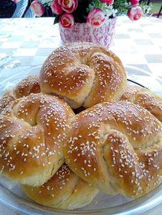 Greek Pita, Cheese Pies, Cauliflower Soup, Greek Recipes, Doughnut, Recipies, Deserts, Favorite Recipes, Cooking