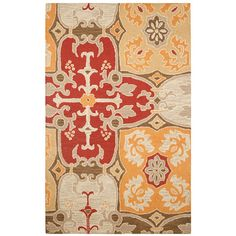 Wildon Home ® Aneska Hand-Tufted Red Area Rug & Reviews | Wayfair
