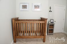 Baby Cribs Diy Plans Changing Tables Ideas For 2019 – Baby Cribs – Babyfotos Rustic Baby Cribs, Wooden Baby Crib, Rustic Crib, Baby Crib Diy, Wooden Cribs, Baby Nursery Diy, Baby Room, Nursery Ideas, Nursery Decor