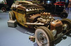 Crazy hot rod by Ronald_H, via Flickr