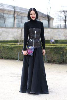 Tiffany Hsu's Best Street Looks - Street Style Spotlight: Tiffany Hsu- StyleBistro