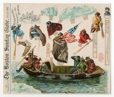 75.2065: Washington Crossing the Delaware | paper toy | Play Sets | Toys | Online Collections | The Strong