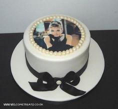 Audrey Hepburn cake!