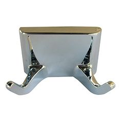 LASCO 355003 Hallmack Style Double Robe Hook Accessory All Metal Construction Chrome Plated Finish *** Read more at the image link.