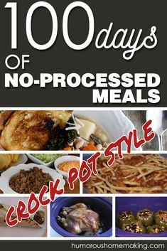 100 crock pot meals