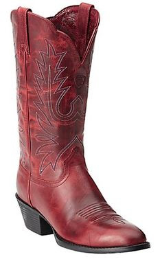 Ariat Women's Redwood Heritage R-Toe Traditional Toe Western Boots | Cavender's