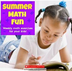 Keep math skills sharp this summer with a problem of the week. Click for more.